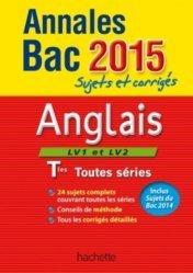 Annales Bac Anglais LV1 et LV2 Tle toutes séries