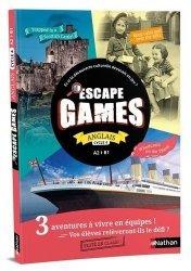 Anglais Cycle 4 A2>B1 Escape Games