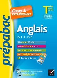 Anglais LV1 & LV2 Tle toutes séries