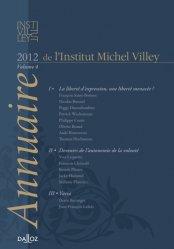 Annuaire de l'Institut Michel Villey. Volume 4, 2012
