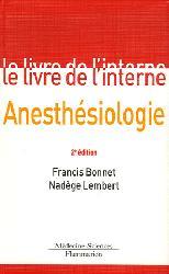 Anesthésiologie