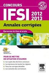Annales corrigées Concours IFSI 2012-2013