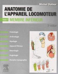 Anatomie de l'appareil locomoteur-Tome 1 Membre inférieur - PACK - NON COMMERCIALISE