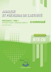 Analyse et prévision de l'activité Processus 5 Tome 1 du BTS CG