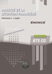Analyse de la situation financière Processus 6 du BTS CG