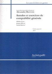 Annales et exercices de comptabilité générale