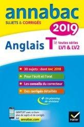 Anglais Tle LV1 et LV2