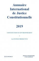 Annuaire international de justice constitutionnelle