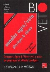 Annales agro/véto Physique et Chimie