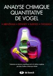 Analyse chimique quantitative de Vogel