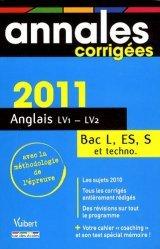 Anglais LV1/LV2 Bac L, ES, S et techno
