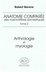 La couverture et les autres extraits de Anatomie comparée des mammifères domestiques