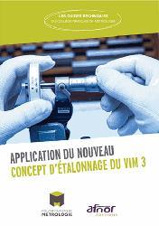 Application du nouveau concept d etalonnage du vim 3