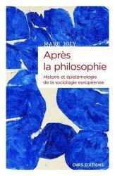 Après la philosophie