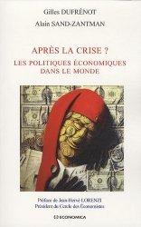Après la crise