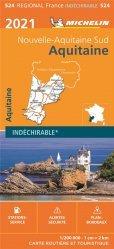 La couverture et les autres extraits de Aquitaine. Carte indéchirable, 1/200 000, Edition 2012
