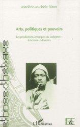 Arts, politiques et pouvoirs