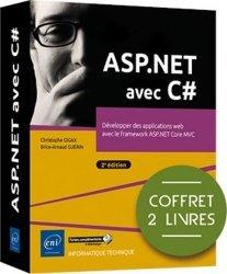 ASP.NET avec C# - Coffret de 2 livres : Développer des applications web avec le framework ASP.NET Core MVC (2e édition)