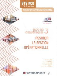 Assurer la gestion opérationnelle BTS MCO 1re & 2e années