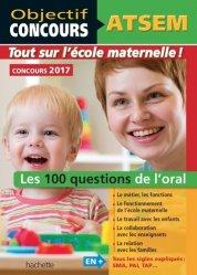ATSEM - 100 questions/réponses pour l'oral 2017