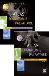 Atlas d'anatomie palpatoire Pack T1 et T2