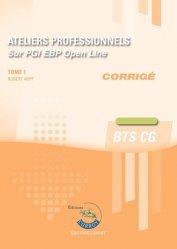 Ateliers professionnels BTS CG sur PGI EBP Open Line Tome 1