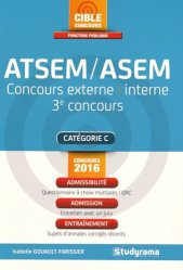 La couverture et les autres extraits de Annales corrigées ATSEM / ASEM