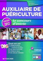 Auxiliaire de puériculture  Le concours d'entrée concours 2012