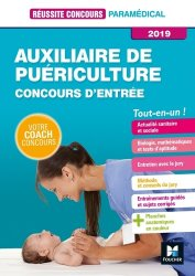 Auxiliaire de puériculture -Concours d'entrée 2019