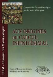 Aux origines du calcul infinitésimal