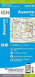 La couverture et les autres extraits de Bourgogne. 1/200 000, Edition 2017