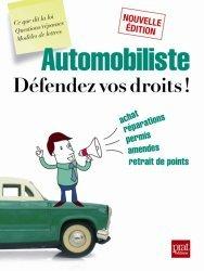 Automobiliste, défendez vos droits !