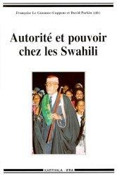 Autorité et pouvoir chez les Swahili