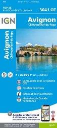 La couverture et les autres extraits de Nîmes, Beaucaire. 1/25 000, Edition français-anglais-allemand