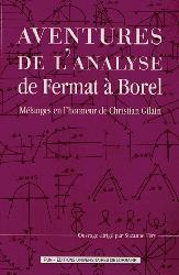 Aventures de l'analyse de Fermat à Borel