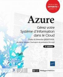 Azure - Gérez votre Système d'Information dans le Cloud (3e édition)