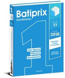 Batiprix 2016 Volume 1
