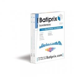 Pack Batiprix Equipement technique 2 volumes 8-9