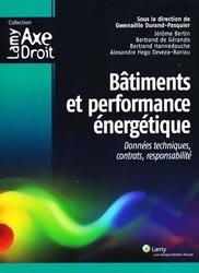 Bâtiments et performance énergétique