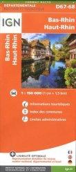 La couverture et les autres extraits de Massif des Vosges, Plaine d'Alsace. 1/200 000