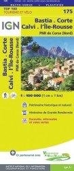 La couverture et les autres extraits de Calvi Cargèse, Monte Cinto, Monte Rotondo. 1/75 000