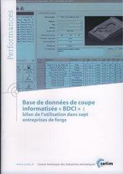 Base de données de coupe informatisée BDCI