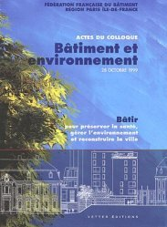 Bâtiment et environnement
