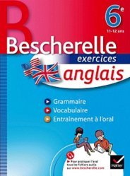 Bescherelle exercices anglais 6e