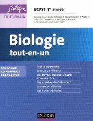 Biologie tout-en-un 1re année BCPST