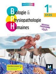 La couverture et les autres extraits de Biologie & physiopathologie humaines 1re ST2S
