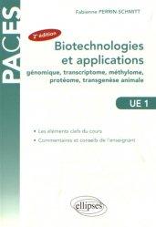 Biotechnologies et applications (génie génétique)