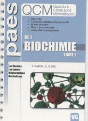 Biochimie Tome 2  UE1