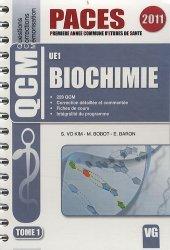 Biochimie Tome 1  UE1