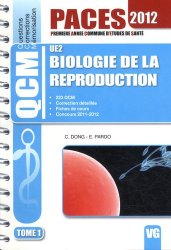 Biologie de la reproduction UE2 Tome 1